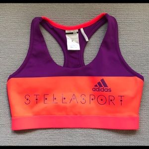 Adidas x Stellasport medium sports bra NEVER WORN